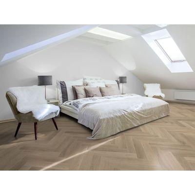 Foto van Luxury Premium Collectie San Francisco Oak LF3524H Visgraat Click