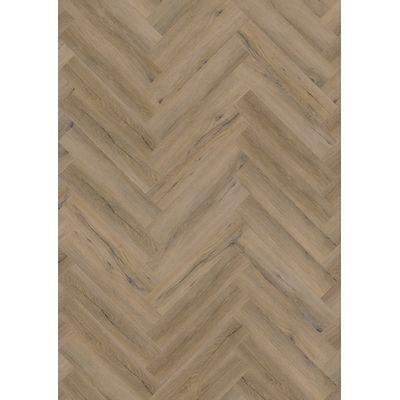 Foto van Smoked Oak Light LF125700 Visgraat Rigid Click PVC