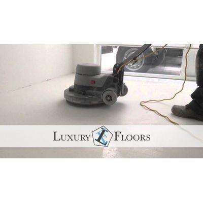 Foto van PVC vloer laten leggen inclusief egaliseren en verlijmen