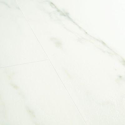 Foto van Quick-Step Ambient Glue Plus AMGP40136 Carrara Marmer Wit