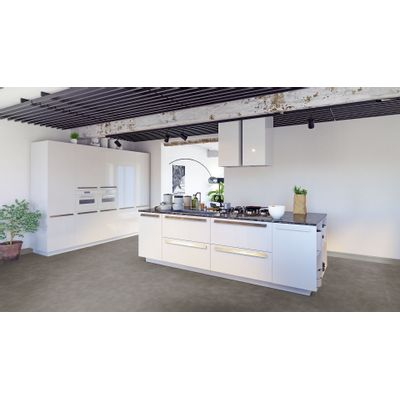 Foto van Luxury Living Premium 0.5 Tiles Terazzo Antraciet RCS8130