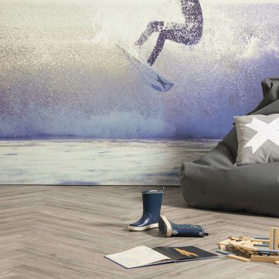 Foto van Douwes Dekker Ambitieus Trendy Visgraat Click PVC 04857 Salmiak