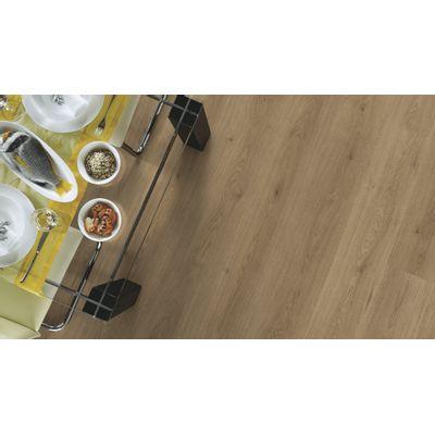 Foto van Kronotex Trendy Eiken Natuur inclusief* ondervloer + deel plint!