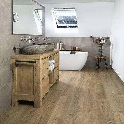 Foto van Douwes Dekker Ambitieus Riante Plank Click PVC 04867 Gemberkoek
