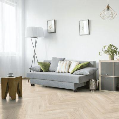 Foto van Gerflor Creation 55 Swiss 0848 Oak Beige Visgraat
