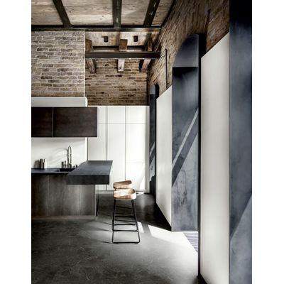 Foto van Aspecta Elemental Dryback Vierkante Tegels D739111X Classic Marble Black