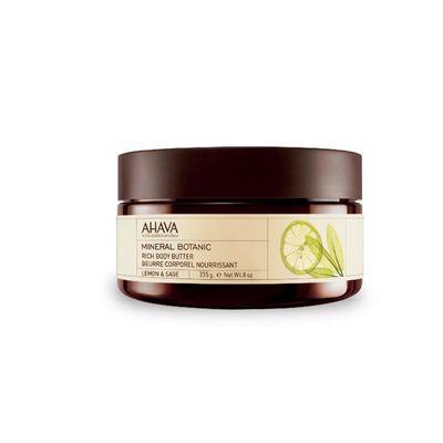 Ahava Mineral botanical body butter lemon & sage