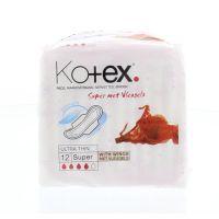 Kotex Ultra super plus met vleugels