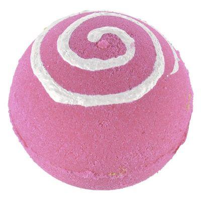 Treets Bath ball pink swirl