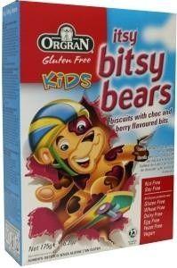 Orgran Itsy bitsy bears chocolate/berry