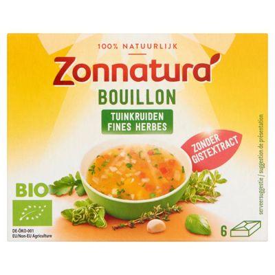 Zonnatura Fine herbstock bouillon zonder gist