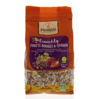 Primeal Crunchly red berries quinoa