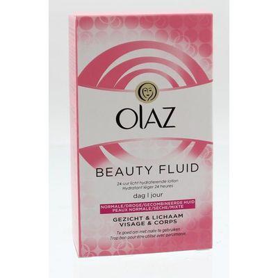 Olaz Essential care fluid regular