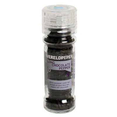Esspo Wereldpeper molen long chocolate pepper