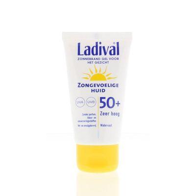 Ladival Zongevoelige gezichtsgel SPF50
