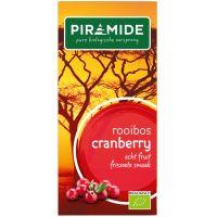 Piramide Cranberry rooibos bio thee