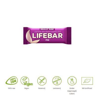 Lifefood Lifebar vijg bio