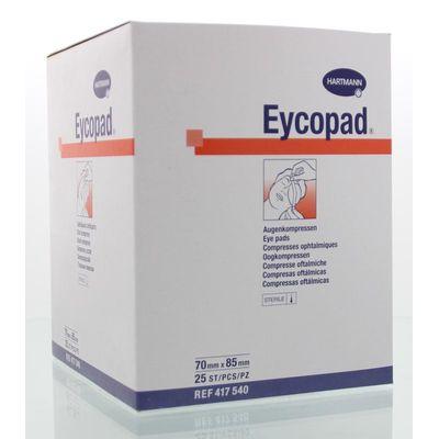 Hartmann Eycopad oogkompres steriel 70 x 85 mm