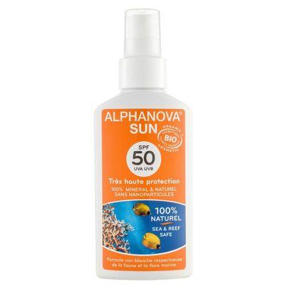 Alphanova Sun Sun spray SPF50 bio
