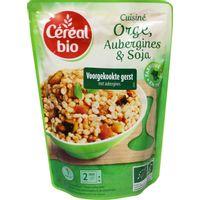 Cereal Stoofpotje van gierst aubergines en soja