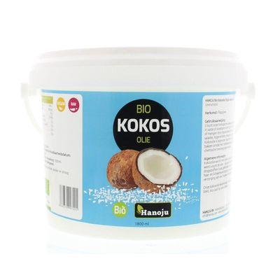Hanoju Kokosolie virgin bio emmer