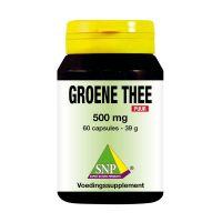 Groene thee 500 mg puur