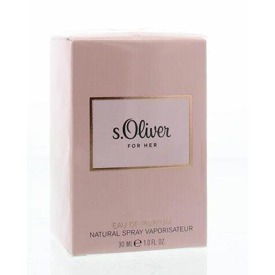 S Oliver For her eau de parfum spray