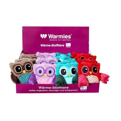 Warmies Uil range mini 16 stuks