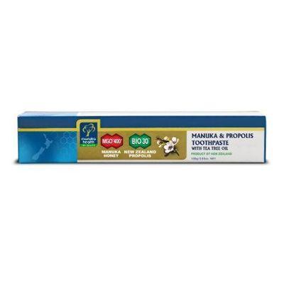 Manuka Health Manuka honing MGO400+ tandpasta tea tree olie
