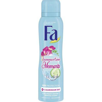 FA Deodorant spray summertime moments