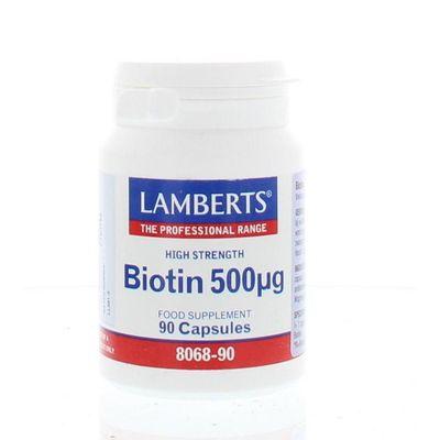 Lamberts Vitamine B8 500 mcg (biotine)