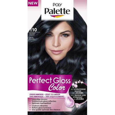 Poly Palette Perfect Gloss Haarverf 110 Glossy Zwart