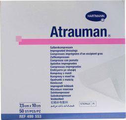 Hartmann Atrauman zalfkompres 7.5 x 10 cm