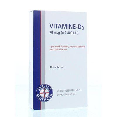 Service Apotheek Vitamine D3 70 mcg