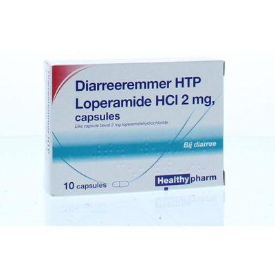 Healthypharm Loperamide 2 mg diarreeremmer