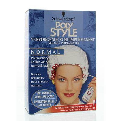 Poly Style Schuimpermanent verzorgend voor normaal haar