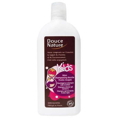 Douce Nature Douchegel & shampoo kids rode vruchten
