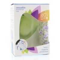 Ladycup Menstruatie cup green maat L