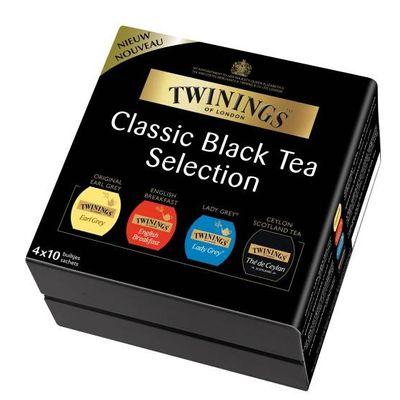 Twinings Theekist black tea 4 x 10 zakjes
