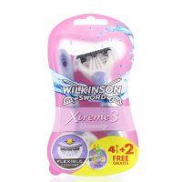 Wilkinson Xtreme3 beauty 4 + 2 gratis