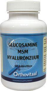 Orthovitaal Glucosamine MSM hyaluronzuur