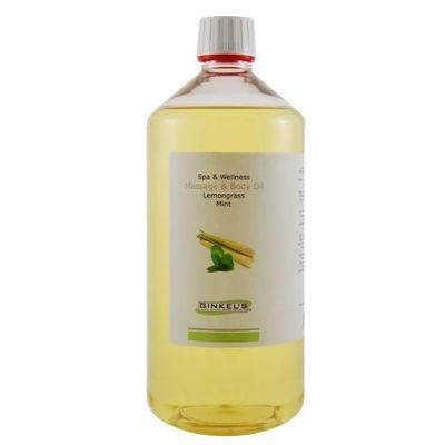 Ginkel's Massage & body oil lemongrass & mint