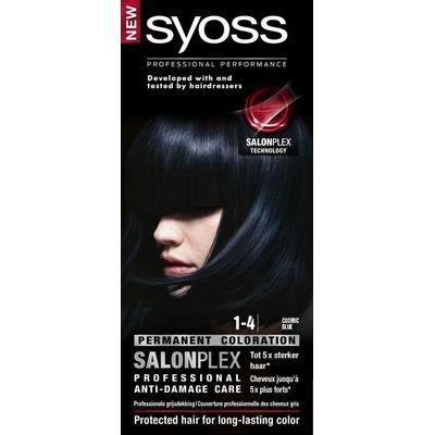 Syoss Color baseline 1-4 cosmic blue haarverf