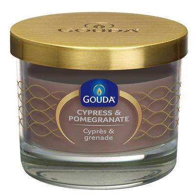 Gouda Gevuld glas zandsteen/cypress & pomegranate 66/80