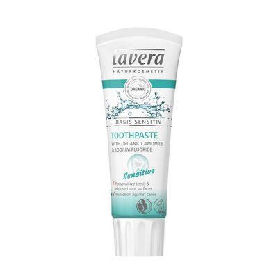 Lavera Tandpasta sensitive kamille fluoride