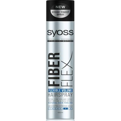 Syoss Fiber Flex flexibel volume 4 extra strong spray