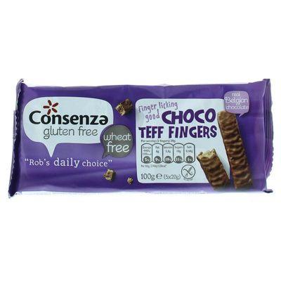 Consenza Choco teff fingers