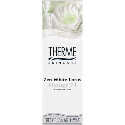 Therme Massage olie zen white lotus