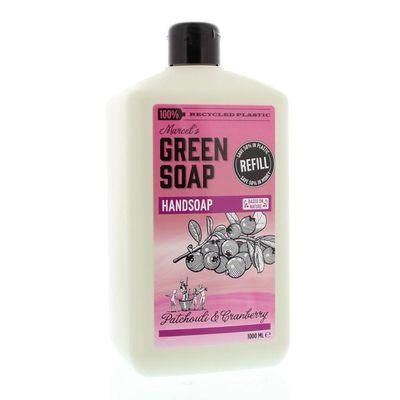Marcel'S GR Soap Handzeep patchouli & cranberry navul