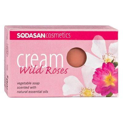 Sodasan Bio zeep wild rose